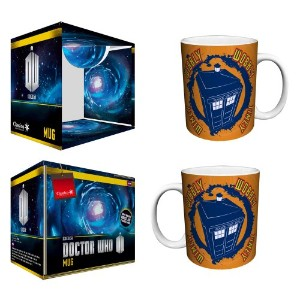 Doctor Who Wibbley Wobbly Timey Wimey Quote Sci Fi British TVテレビShow磁器Boxed Giftコーヒー(ティー、ココア)...