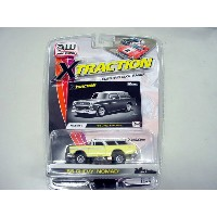 【あす楽】AW 1955 Chevy Nomad Yellow 2B_7_Y HOスロットカー