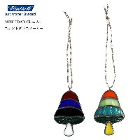 【メール便送料無料】 RADIALL (ラディアル) MUSHROOM - STAINED GLASS ORNAMENT (NEW TRAD Glass Art x RADIALL コラボ...