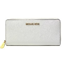 (マイケル コース)MICHAEL KORS『JET SET TRAVEL ZA CONTINENTAL』 長財布【OPTIC WHITE】32S3GTVE3L OPTIC WHITE [並行輸入品]