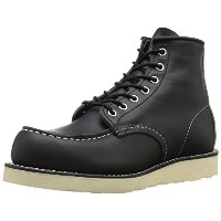 [レッドウィング] RED WING 6INCH CLASSIC MOC TOE BOOT 9075 BLACK HARNESS(ブラック ハーネス/US8)