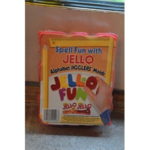Jell-O Alphabet Jigglers Molds by Jell-O