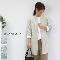 【ev】evam eva(エヴァムエヴァ) silk wool rove 3colormade in japane173k039