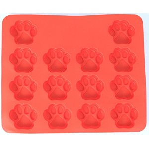 Pampered Pup Paw Shaped Silicone Baking Pan