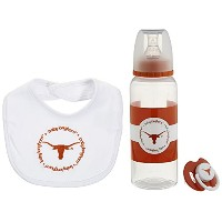 Baby Fanatic Gift Set,University of Texas by Baby Fanatic