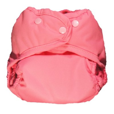 Kissa's All-In One Diaper, Hip Pink, One Size by Kissa's