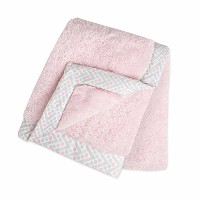 Just Born Plush Blanket, Pink by Just Born