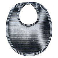 Kissy Kissy Baby Essentials Striped Bib-Navy-One Size by Kissy Kissy