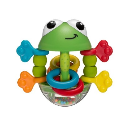 Infantino Flip Flop Frog Rattle by Infantino