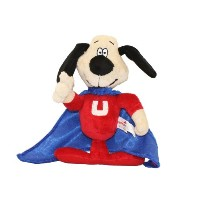 Multipet Officially Licensed Underdog Talking Dog Toy 9-Inch Stuffed Pet