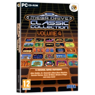 Sega MegaDrive Classic Collection Vol.4 (PC) (輸入版)