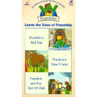 Franklin Learns、テープの値友情[ VHS ] ( 2005 )