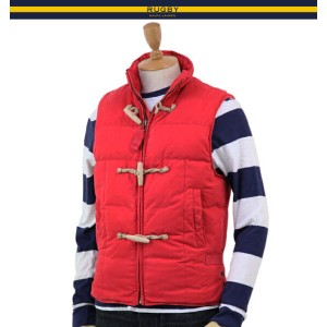 RUGBY by Ralph Lauren Men's Naval Down Vest ラグビー メンズ ダウンベスト