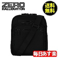 ZEROHALLIBURTON ZEST ゼスト Shoulder Bag Shoulder Bag Black ブラック 733-BK