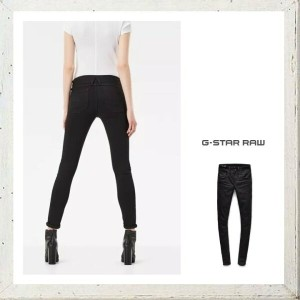 G-STAR RAW【 ジースターロウ 】Lynn D-Mid Waist Super Skinny JeansスーパーストレッチYield Black Ultimate Stretch...