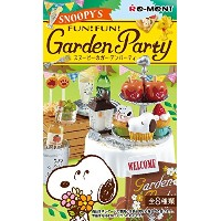 SNOOPY's Garden Party BOX商品 1BOX=8個入り、全8種類