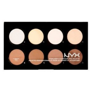 (3 Pack) NYX Hightlight & Contour Pro Palette (並行輸入品)