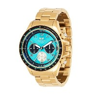 ベスタル Vestal Men's ZR2023 ZR-2 Analog Display Japanese Quartz Gold Watch [並行輸入品]