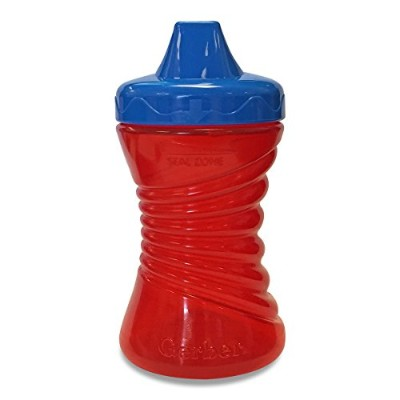 Gerber Graduates Fun Grips Hard Spout Sippy Cup in Assorted Colors, 10-Ounce by Gerber Graduates