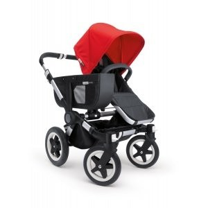 Bugaboo Donkey Sun Canopy - Coral Red by Bugaboo