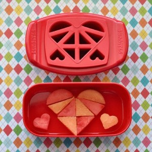 FunBites Food Cutter, Red Hearts by FunBites