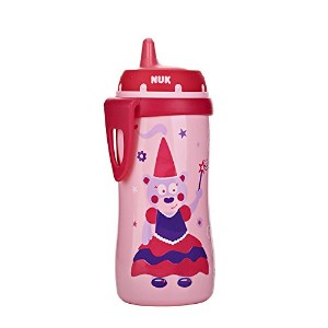 NUK Hard Spout Active Cup in Assorted Colors and Patterns, 10-Ounce by NUK