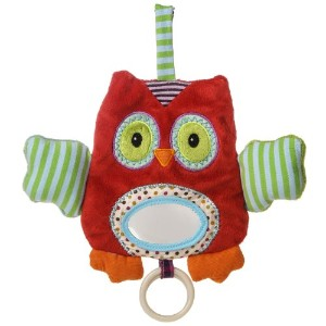 Mary Meyer Natural Life Baby Activity Toy, Whooo Loves You Owl by Mary Meyer