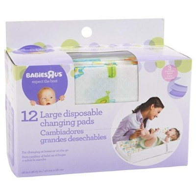 Babie R Us Large Disposable Changing Pads - by Babies R Us