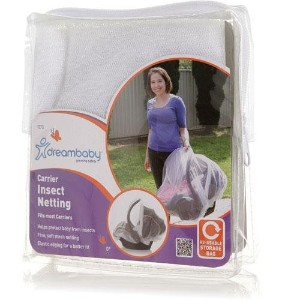 Dreambaby Carrier Insect Netting - White by Dreambaby