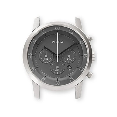 [wena project] Chronograph Silver Head WN-WC01S-H