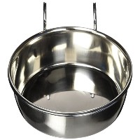 Ethical Products Stainless Steel Coop Cup with Wire Hanger Clean Spill Free 30oz