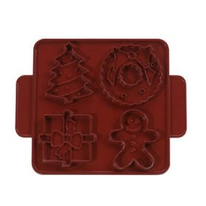 Nordic Ware Christmas/Winter Cookie Cutter Plaques by Nordic Ware