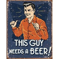 Schonberg - This Guy Tin Sign , 13x16 by Poster Discount [並行輸入品]