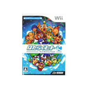 【中古】 はたらくヒト -Hard Working People- /Wii 【中古】afb