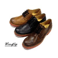 BZ Wingchip Antique Shoes 2 【RCP】