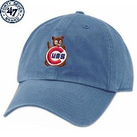 MLB シカゴ・カブス 1968 クーパーズタウン フランチャイズ キャップ Chicago Cubs 1968 Royal Cooperstown Franchise Cap