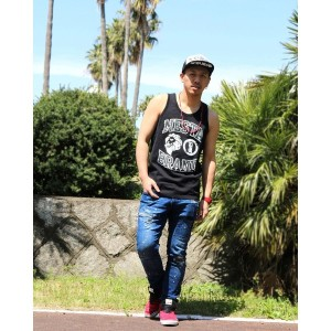 【SALE 20%OFF】ネスタブランド Nesta Brand Bridge Lion Tank (クロ)