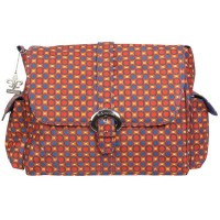 Kalencom Messenger Buckle Diaper Bag, Cassandra Dots by Kalencom
