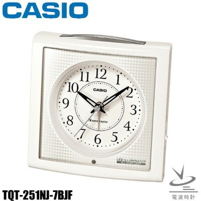 CASIO〔カシオ〕置時計 TQT-251NJ-7BJF【HD】【D】