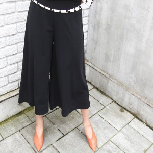 [zoozoom] Incision wide pants 3color / 24315