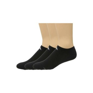 アディダス メンズ インナー・下着 ソックス【Cushion 3-Pack No Show Socks】Black/White/Light Onix/Granite