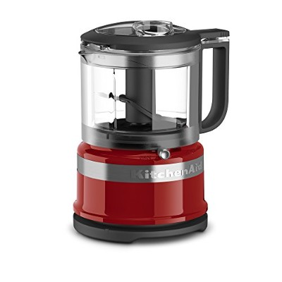KitchenAid 3.5カップMini Food Processor One Size レッド 606306-KFC3516ER