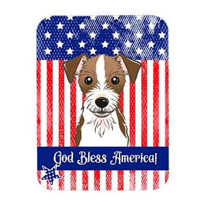 Carolines Treasures BB2132LCB Jack Russell Terrier Glass Cutting Board, Large