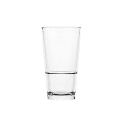 blazun ps-a42壊れないポリカーボネートStacker Highball Barware ( Set of 6 )、12オンス、クリア