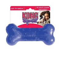 KONG Squeezz BONE LARGE Dog Toy (PSN1)