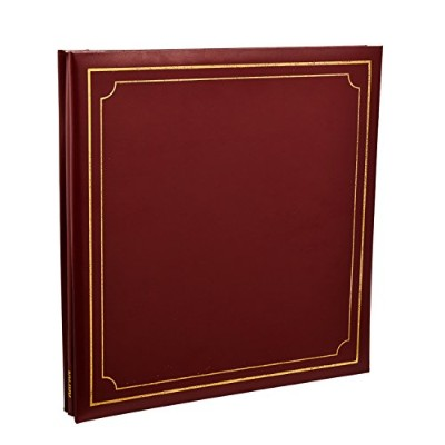 Arpan Extra-Large 32x26cm Self Adhesive Photo Album 24/Sheets 48/Sides Leather Look Padded Cover...