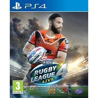 Rugby League Live 4 (PS4)(輸入版)