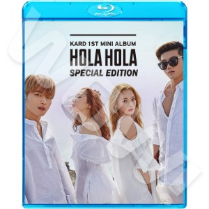 【Blu-ray】? KARD 2017 SPECIAL EDITION ?  Hola Hola ? 【KPOP ブルーレイ】?  K.A.R.D カード ? 【K.A.R.D ブルーレイ】