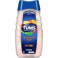 TUMS Antacid Ultra Strength 1000 Assorted Fruit Chewable Tablets 160 count