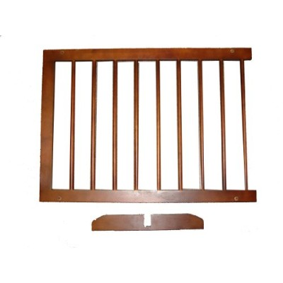 Cardinal SGX-WA Step Over Pet Gate Extension - Walnut